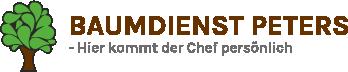 Baumdienst Peters Logo